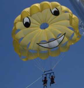 Phoenix Alexander Parasailing and overcoming a Fear of Heights