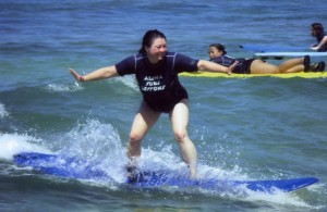 Phoenix on a Surfboard in Hawaii, Succeed, success,